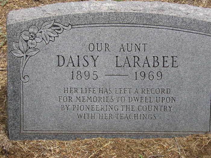 Daisy B. Larabee