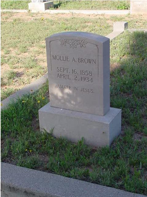 Mary A. <i>Horton</i> Brown