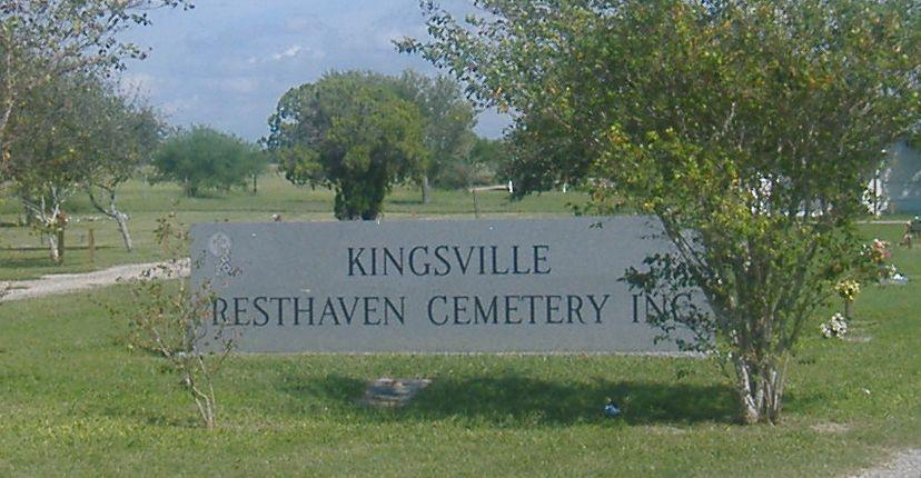 Kingsville Resthaven Cemetery