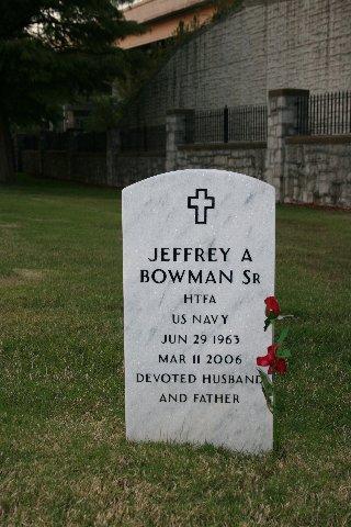 LT Jeffrey Andrew Bowman, Sr