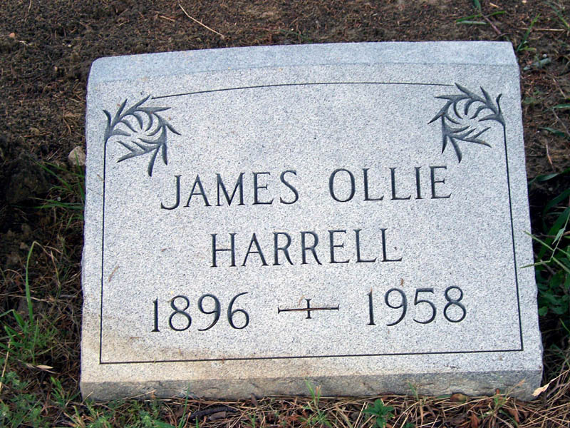 James Oliver Ollie Harrell