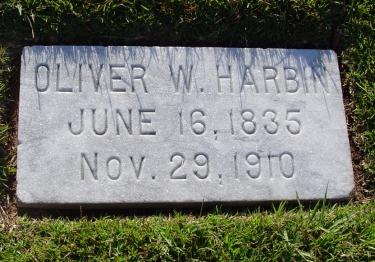 Oliver Wiley Harbin