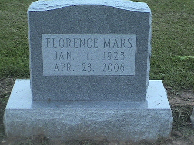 Florence Latimer Mars
