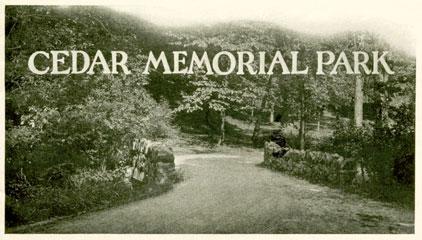 Cedar Memorial Park