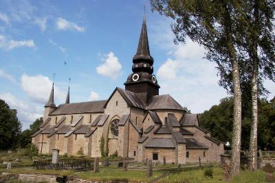 Tornet p Varnhems klosterkyrka - Picture of Varnhems