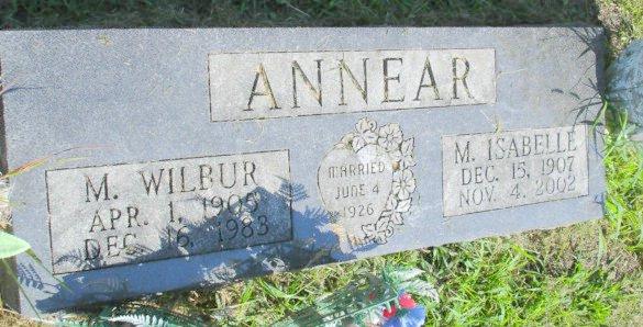 Maurice Wilbur Annear, Sr