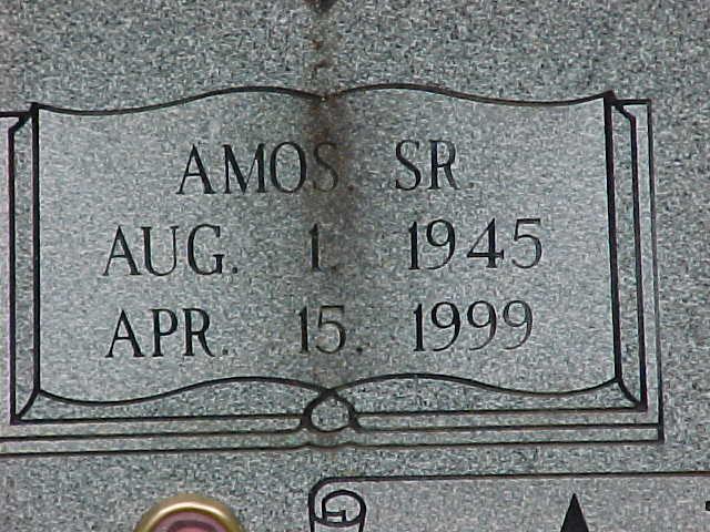 Amos Arnold, Sr