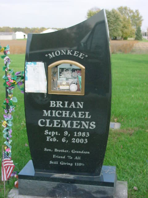 "Spec Brian Michael ""Monkee"" Clemens (1983-2003) - Find A"