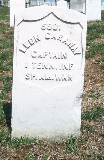 Capt Leonidas A Caraway