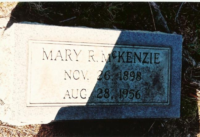 Mary Irene <i>Redmond</i> McKenzie