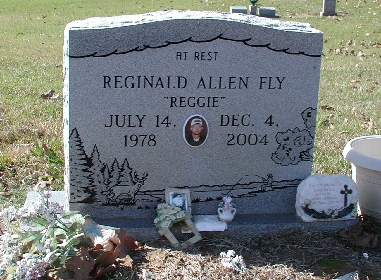 Reginald Allen Reggie Fly
