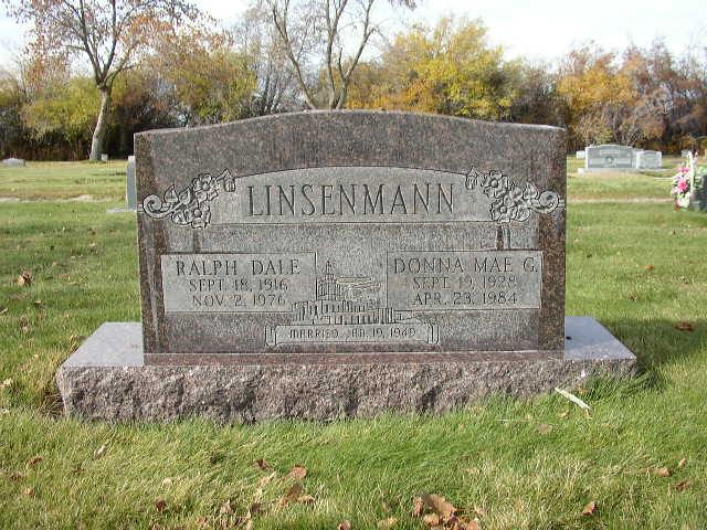 Donna Mae <i>Grossnickle</i> Linsenmann