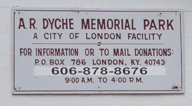 A.R. Dyche Memorial Park