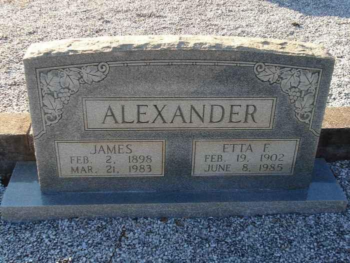 Etta <i>Frasier</i> Alexander