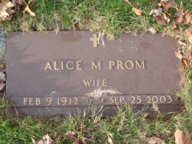 Alice M. Prom