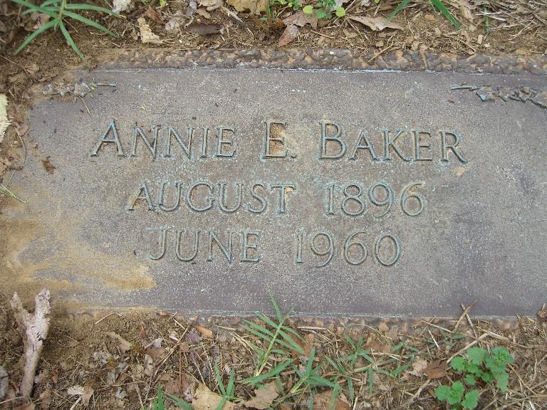 Annie E <i>Thorne</i> Baker