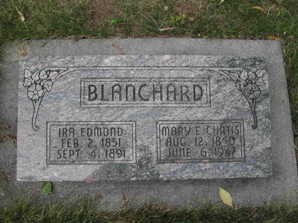 Mary Eliza <i>Curtis</i> Blanchard