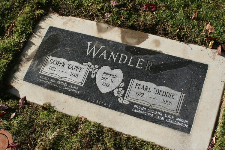 Pearl Lucille Deddie <i>Thomas</i> Wandler