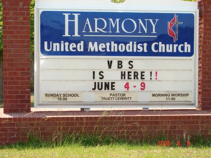 Harmony United Methodist Church Cemetery