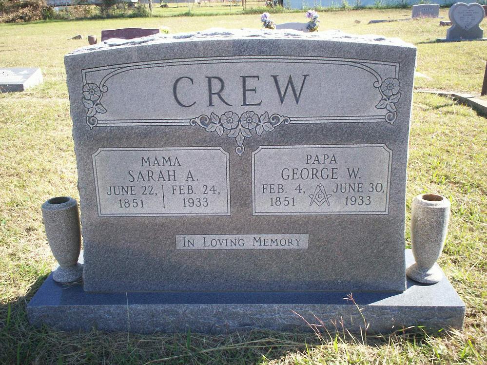 Doctor George Washington Crew