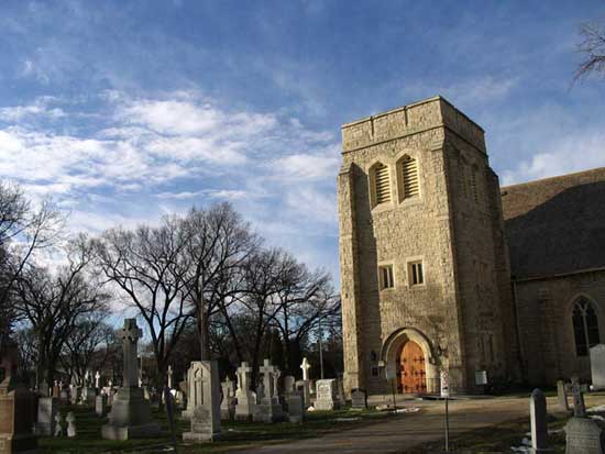 Saint Johns Anglican Cathedral Cemetery
