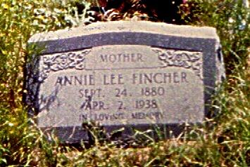 Annie Lee <i>Stewart</i> Fincher
