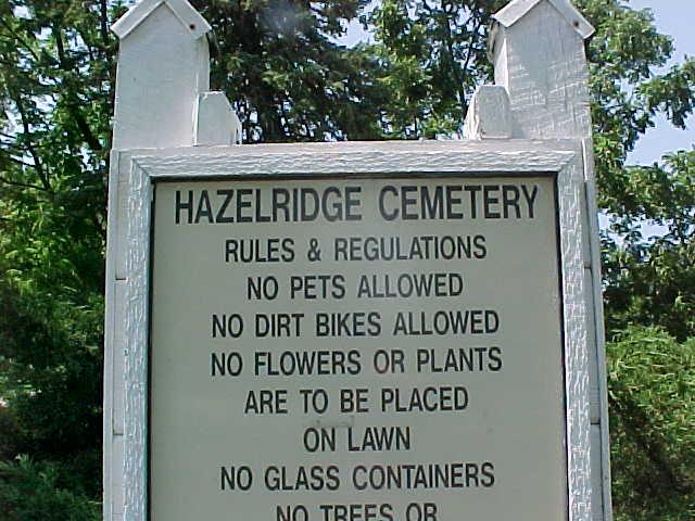 Hazel Ridge Cemetery