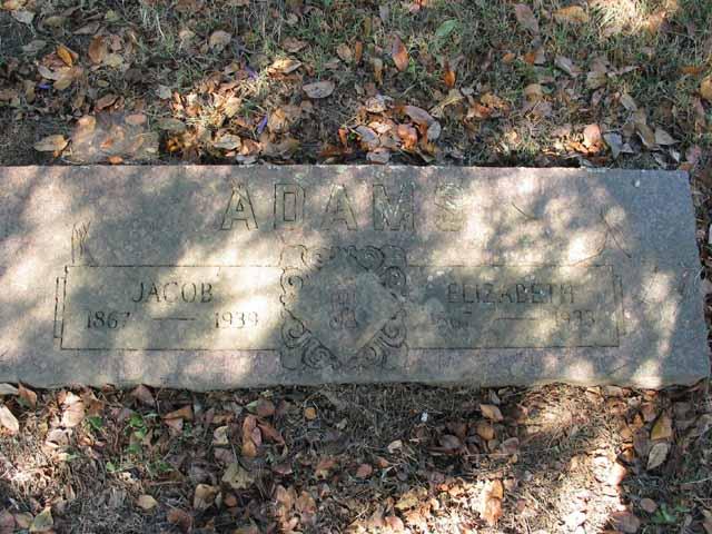 Sara Elizabeth Lizzy <i>Watson</i> Adams