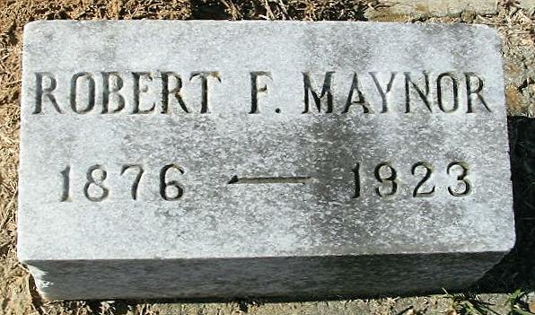 Robert Franklin Maynor