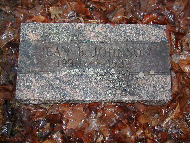 Jean Bruce <i>McVeigh</i> Johnson