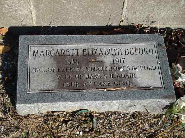 Margarett Elizabeth <i>Buford</i> Adair