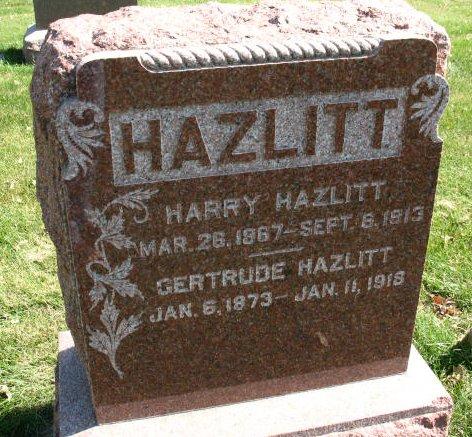 Gertrude Hazlitt