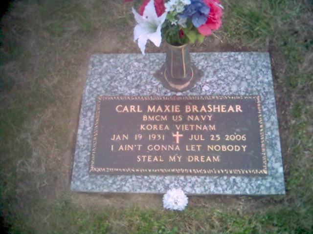 MCPO Carl Maxie Brashear