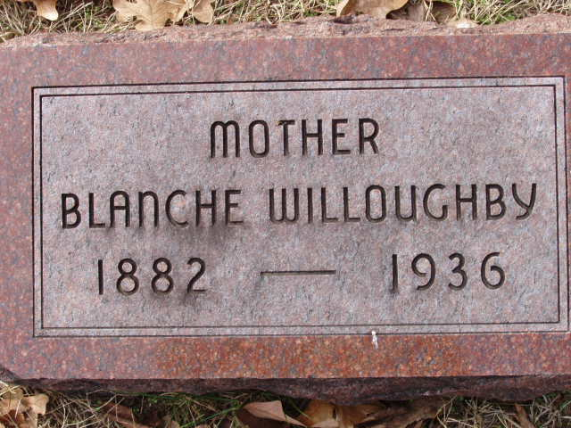 Mary Blanche Blanche <i>Oberlin</i> Willoughby