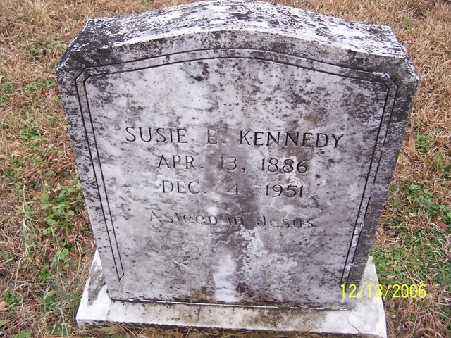 Susie E <i>Pierce</i> Kennedy