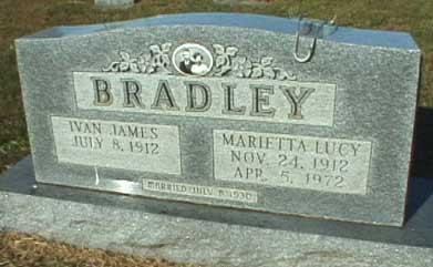 Marietta Lucy <i>Reese</i> Bradley