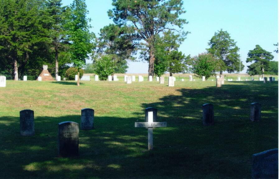 Beef Creek Apache Cemetery