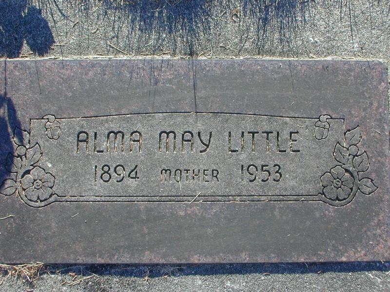 Alma May <i>Martin</i> Little
