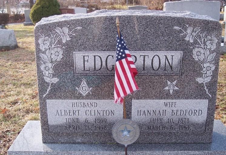 Hannah Jane <i>Bedford</i> Edgerton
