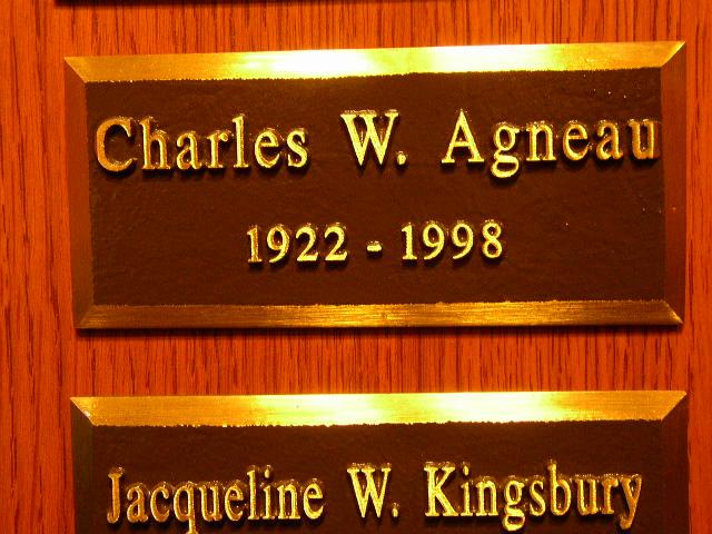Charles W. Agneau