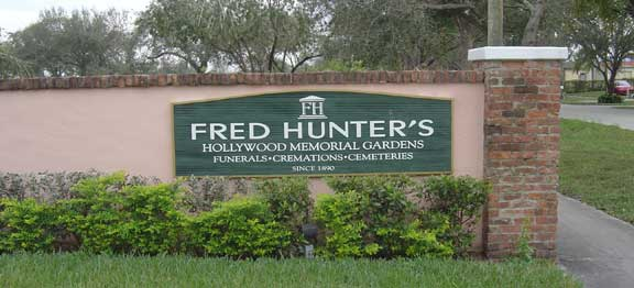 Fred Hunter\'s Hollywood Memorial Gardens North in Hollywood, Florida ...