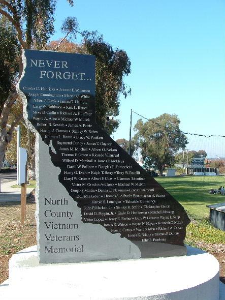 North County Vietnam Veterans Memorial