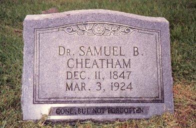 Dr Samuel B. Cheatham