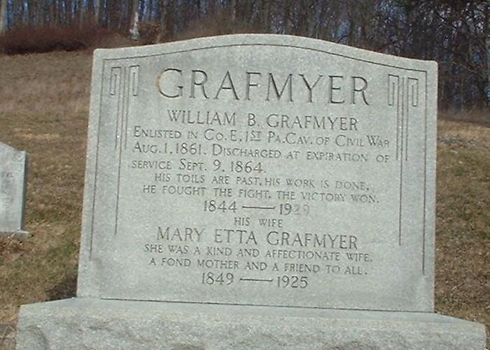 Mary Etta <i>Armstrong</i> Grafmyer