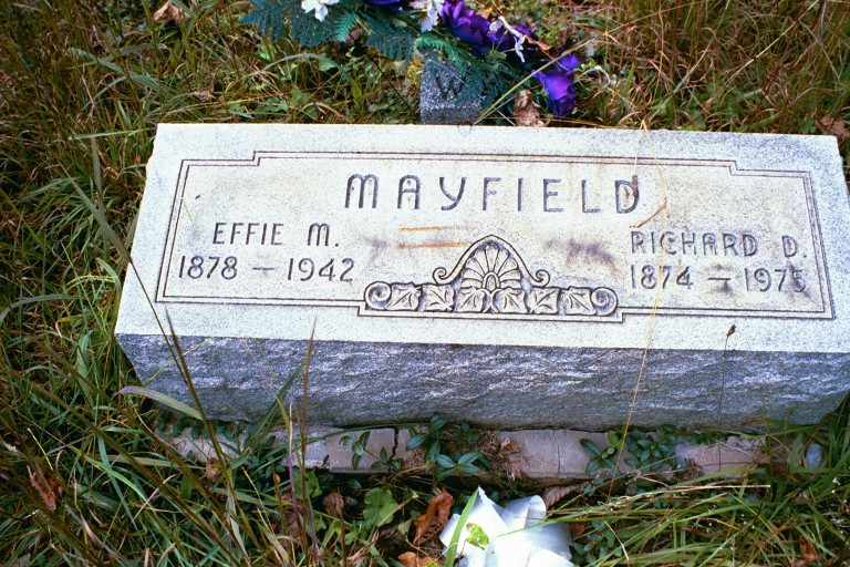 Effie May <i>Jones</i> Mayfield