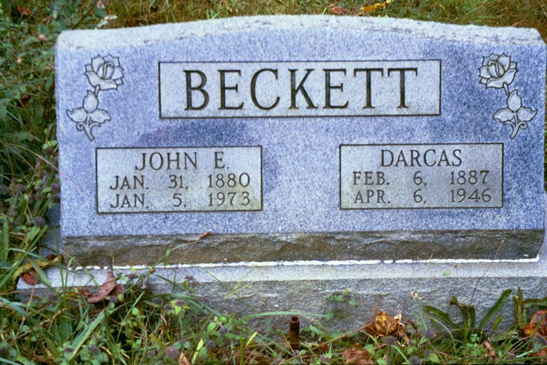 Dorcus Elizabeth <i>Mayfield</i> Beckett