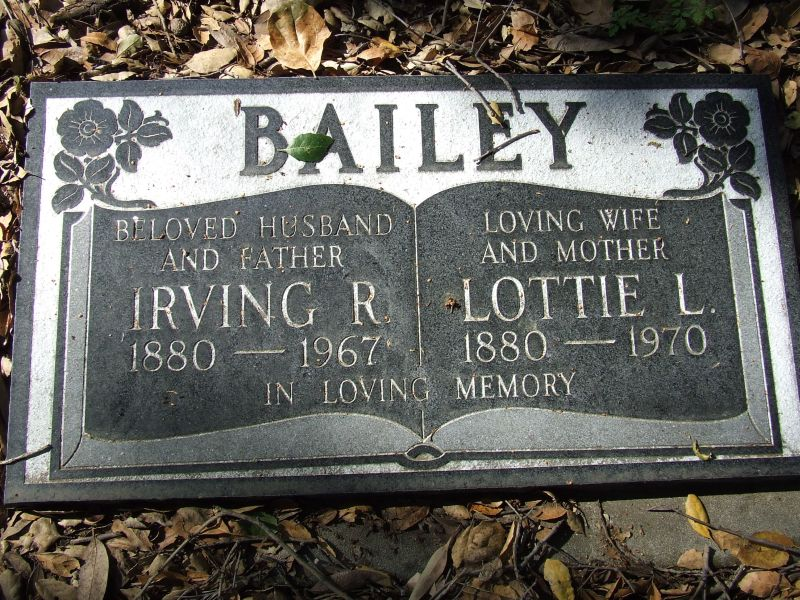 Irving Ratlan Bailey