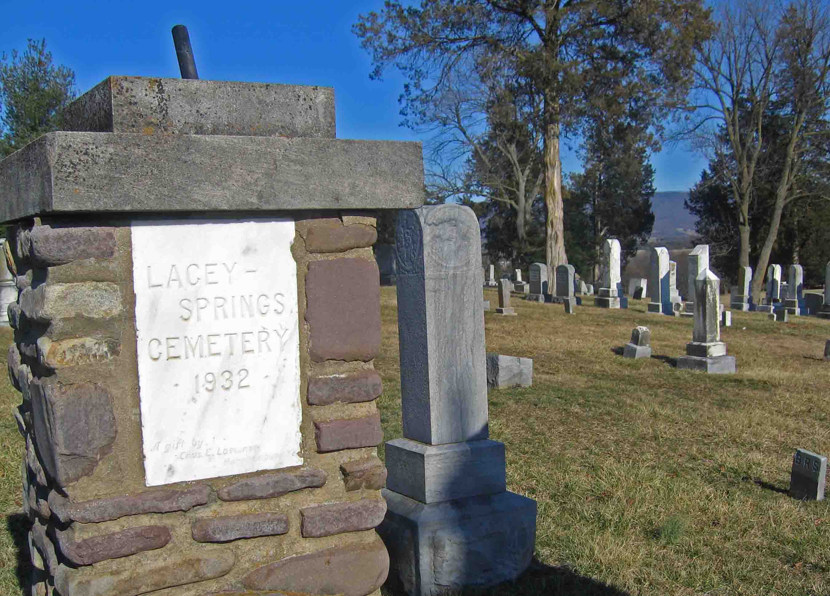 Lacey Springs Cemetery
