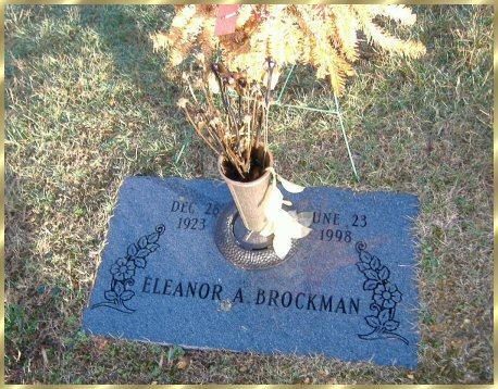 Eleanor A Brockman