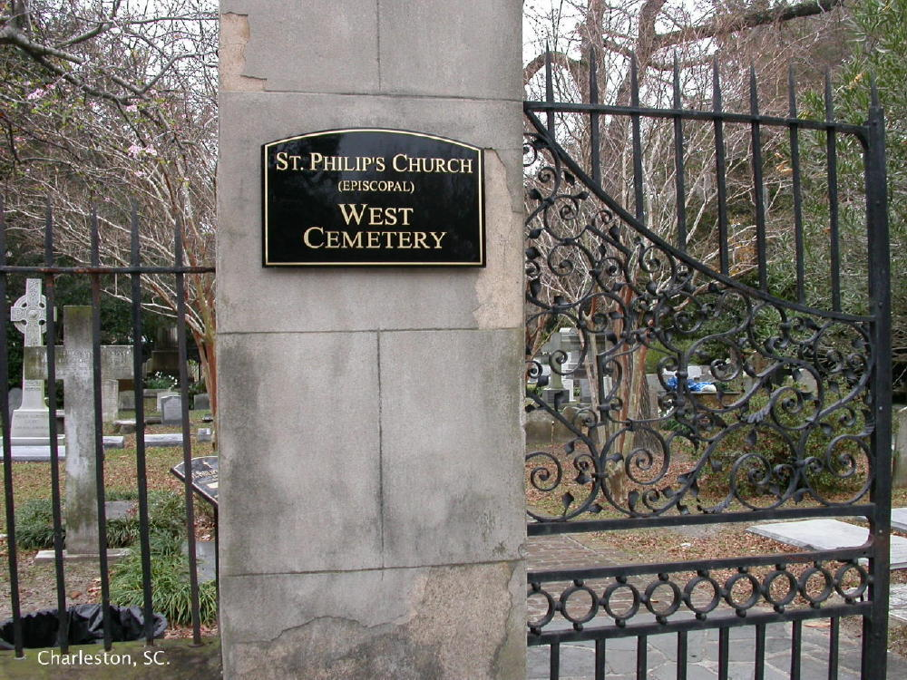 Saint Philips Episcopal Church Cemetery